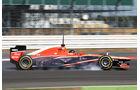 Rodolfo Gonzalez - Marussia - Young Drivers Test - Silverstone - 19. Juli 2013