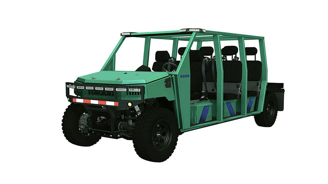 Rokion Minenfahrzeuge Elektroauto