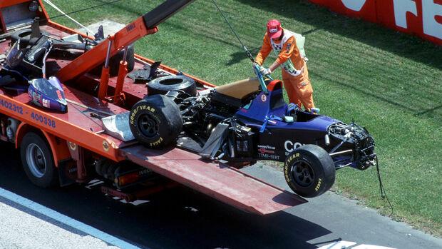 Roland Ratzenberger - GP San Marino 1994 - Imola