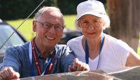 Rolf Spang und Dr. Beatrice Spang bei der Silvretta Classic 2010