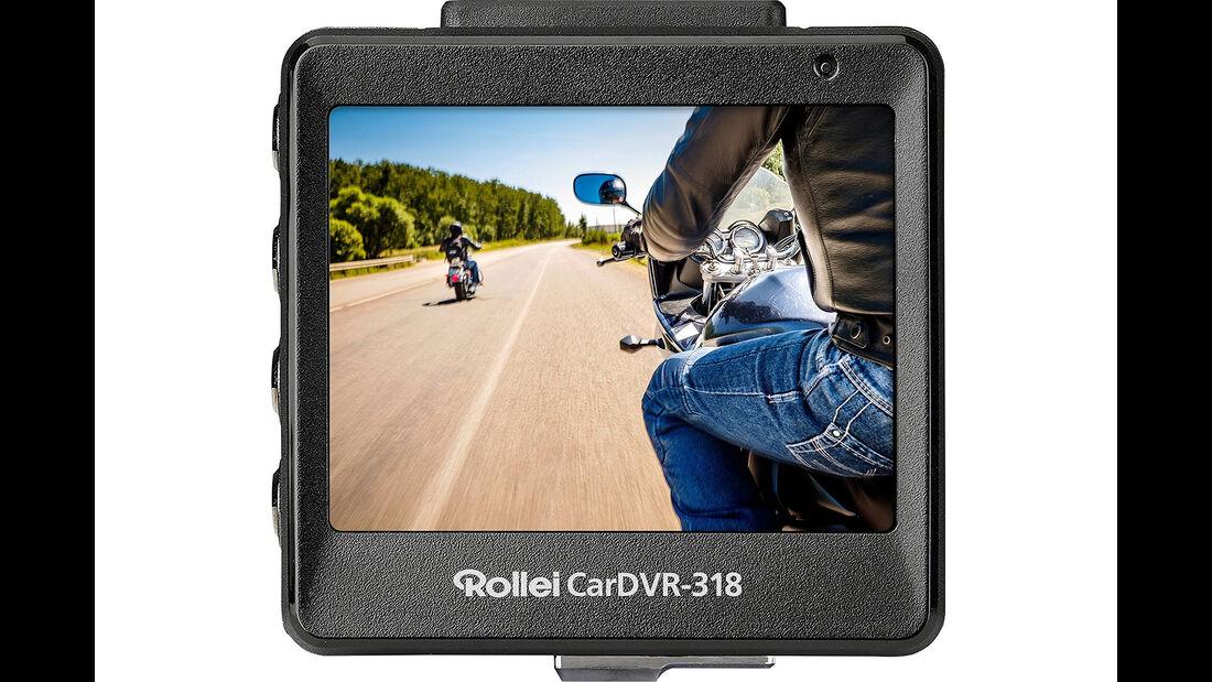 Rollei CarDVR 318, ADAC Dashcam-Test 2018