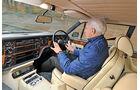Rolls Royce Camargue, Cockpit, Fahrersicht