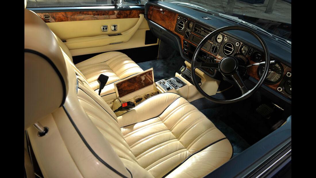 Rolls Royce Camargue, Cockpit, Interieur