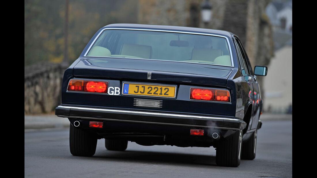 Rolls Royce Camargue, Heckansicht