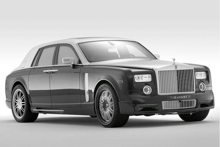 Rolls-Royce Conquistador von Mansory