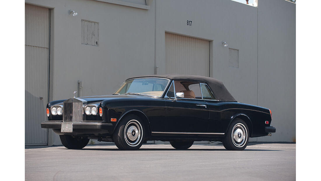 Rolls-Royce Corniche Cabriolet (Frontansicht)