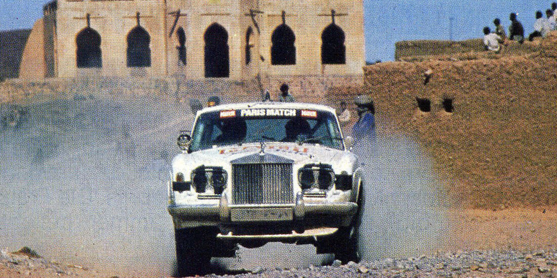 Rolls Royce Corniche Coupé - Dakar 1981