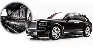 Rolls-Royce Cullinan Drake Chrome Hearts