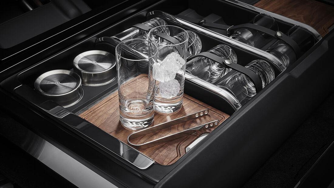 Rolls-Royce Cullinan Recreation Module Heckschublade