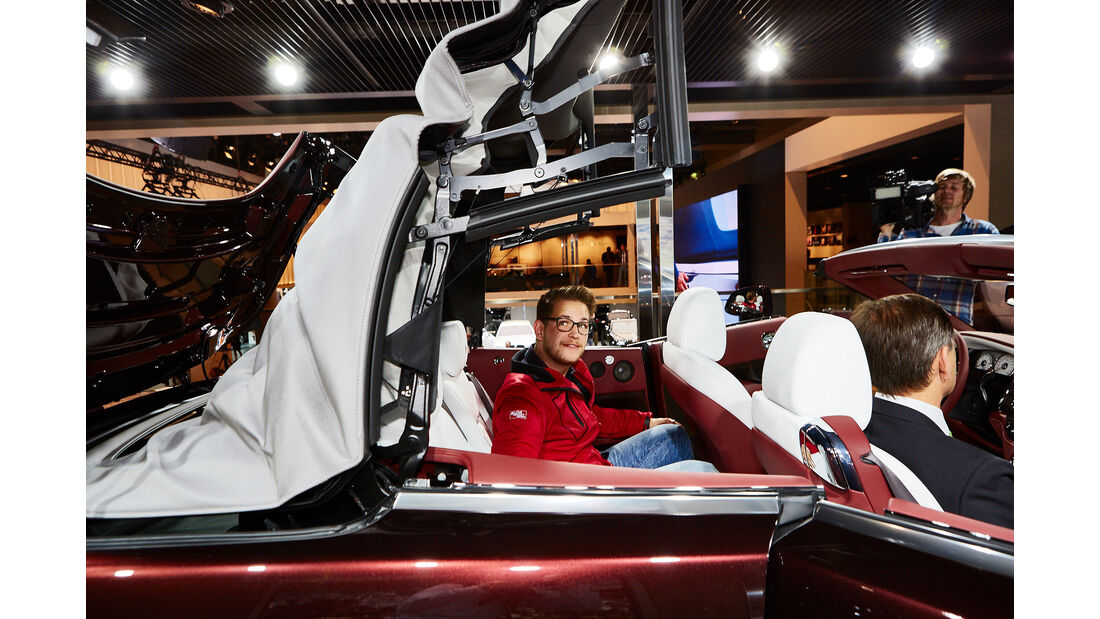 Rolls Royce Dawn Sitzprobe