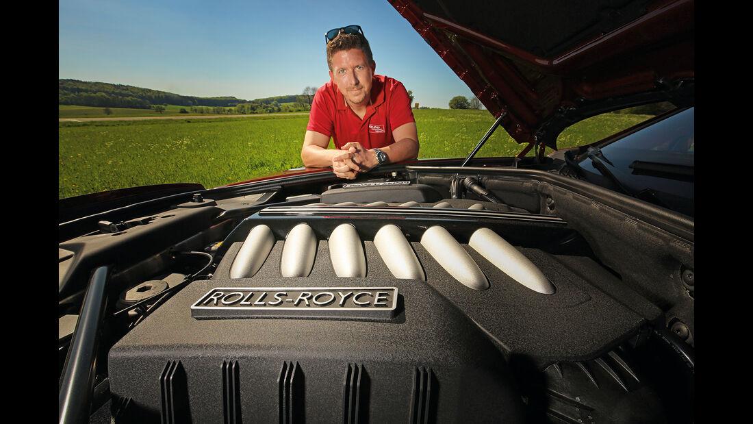 Rolls-Royce Dawn und Jens Dralle