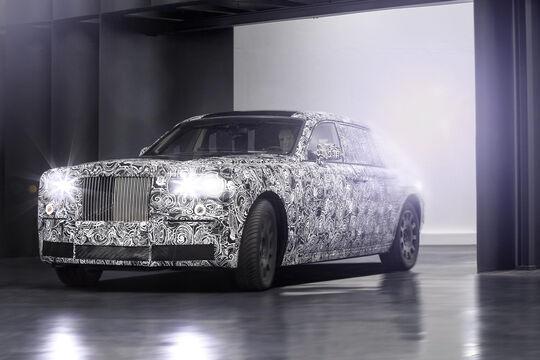 Rolls-Royce Erlkönig Prototyp