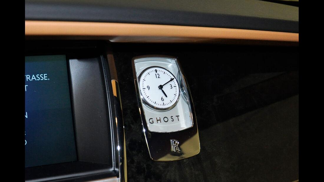 Rolls Royce Ghost, Analoguhr
