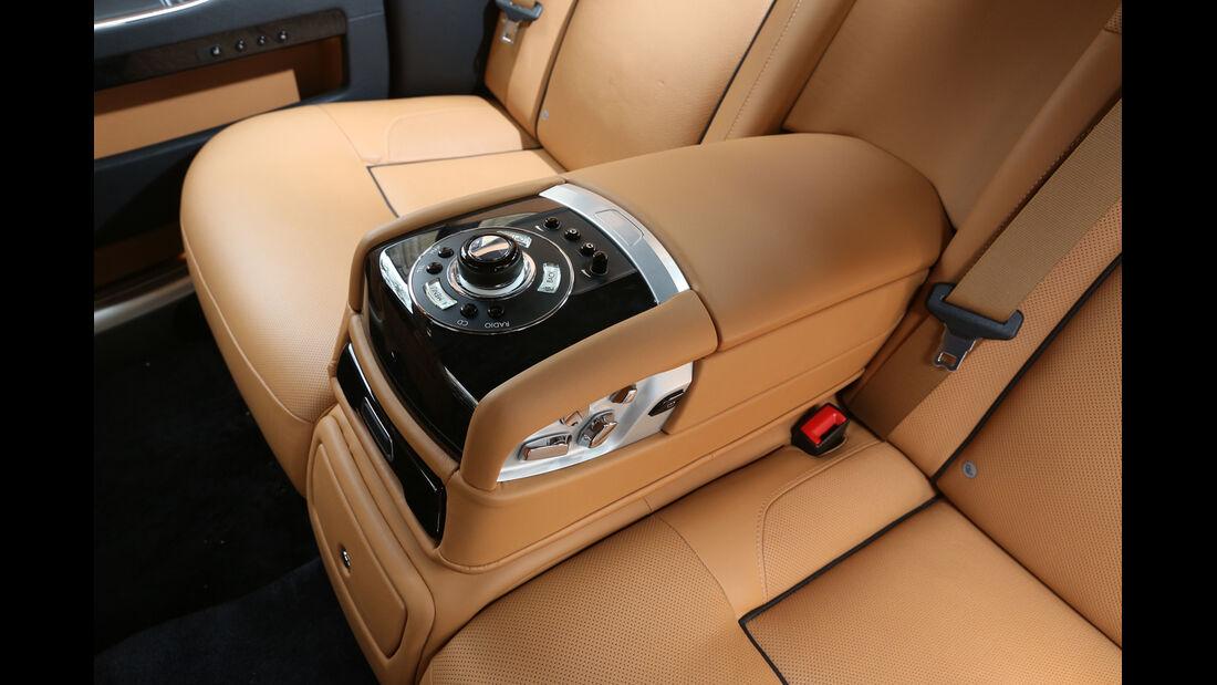 Rolls-Royce Ghost, Bedienelement, Fond