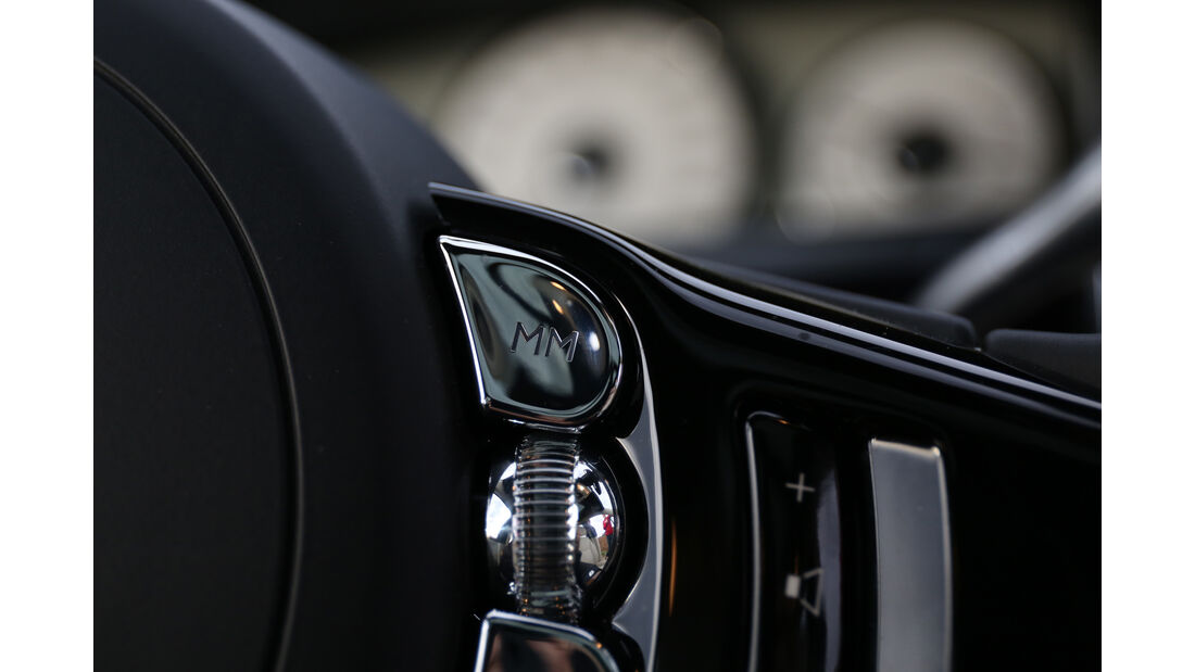 Rolls-Royce Ghost, Bedienelemente