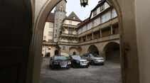 Rolls-Royce Ghost, Bentley Flying Spur, Range Rover 5.0 V8 SC, Heckansicht