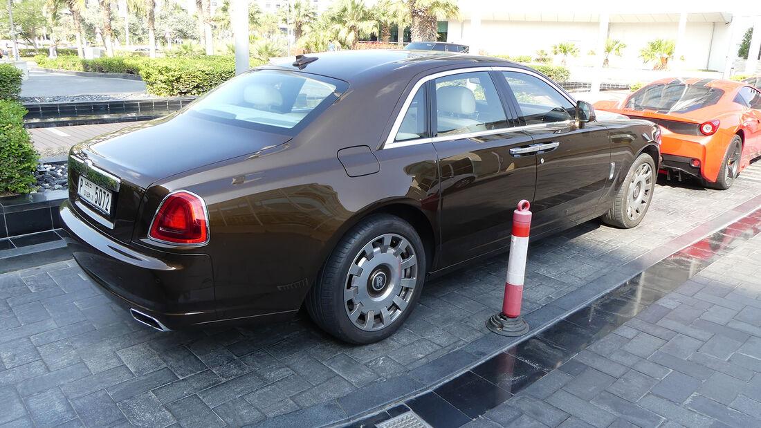 Rolls-Royce Ghost - Carspotting - GP Abu Dhabi 2019