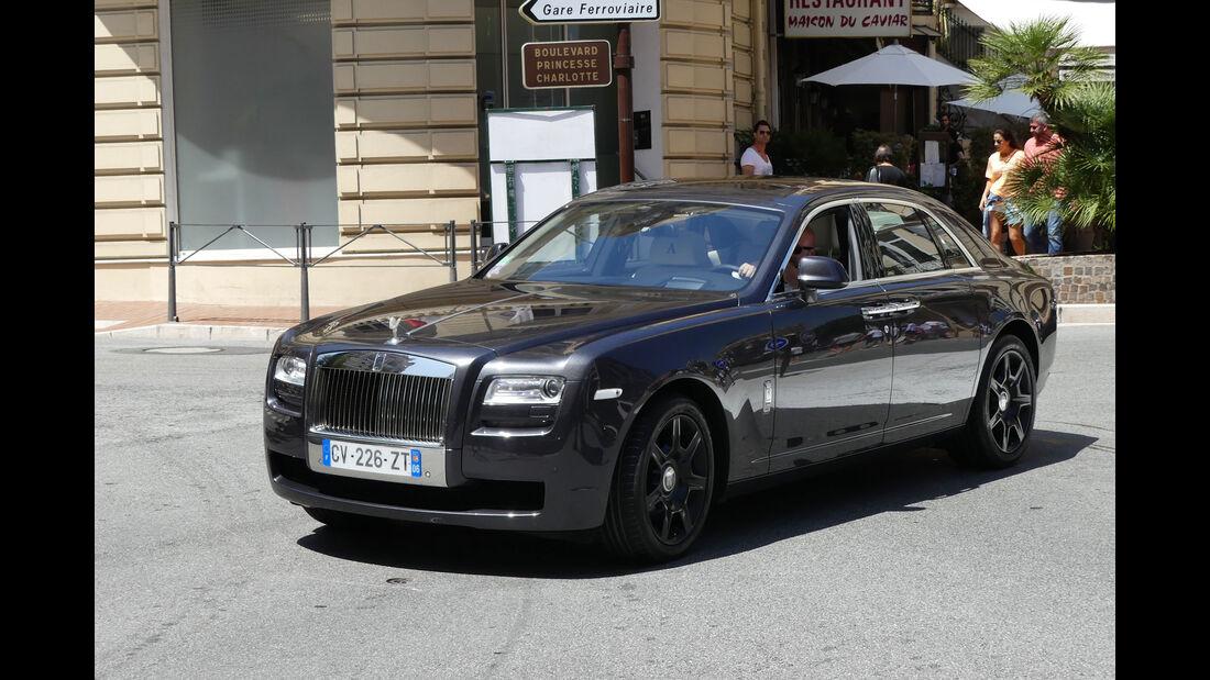 Rolls Royce Ghost - Carspotting - GP Monaco 2018