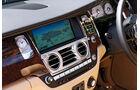 Rolls-Royce Ghost EBW, Mittelkonsole, Navi