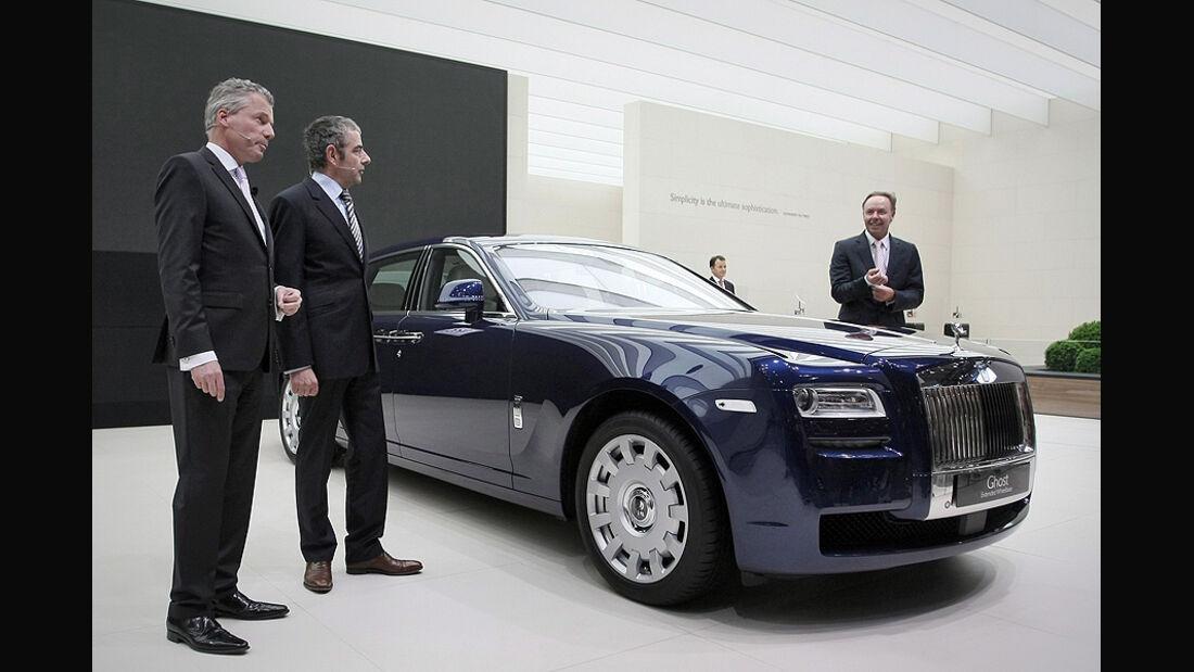Rolls-Royce Ghost EWB auf der IAA 2011