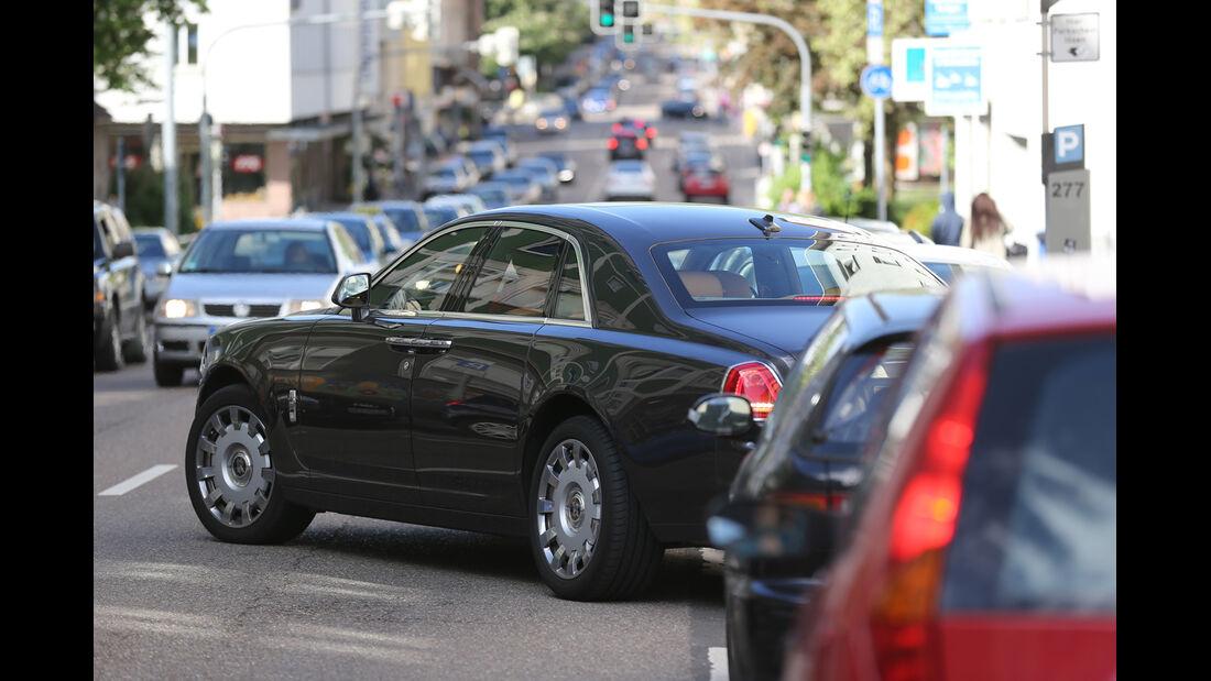 Rolls-Royce Ghost, Einparken