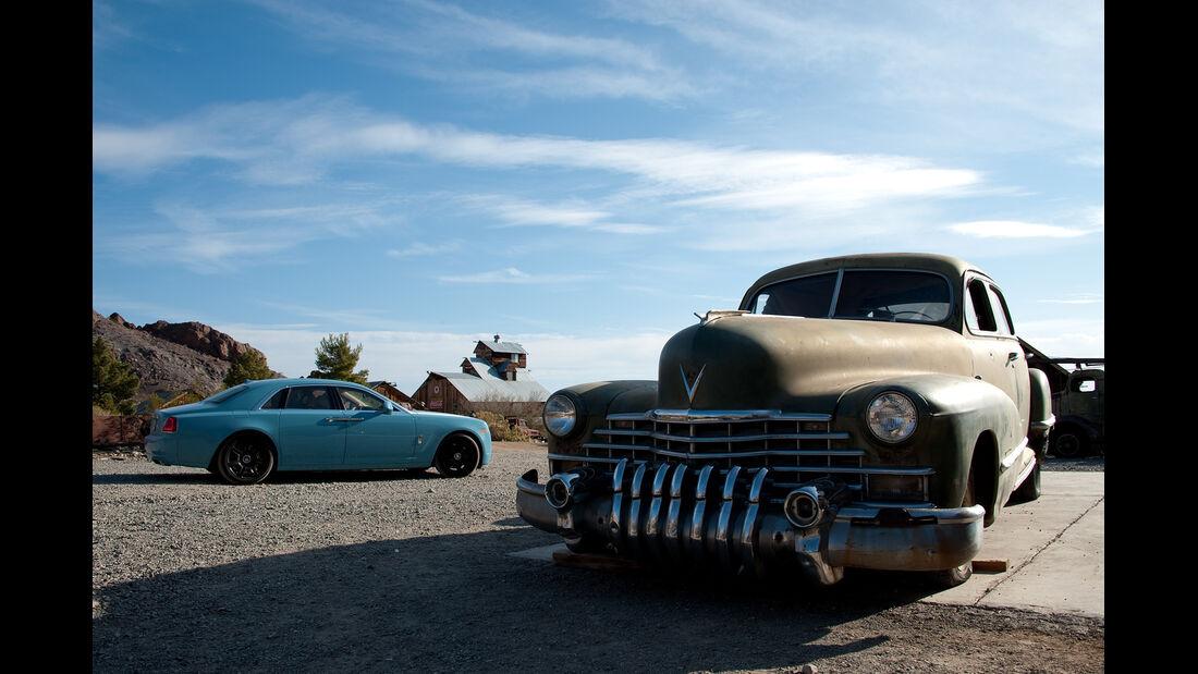 Rolls-Royce Ghost, Eldorado, Seitenansicht