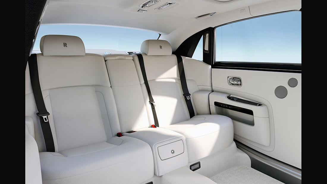 Rolls-Royce Ghost Extended Wheelbase, Innenraum
