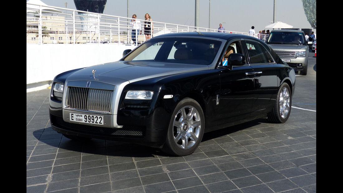 Rolls Royce Ghost - F1 Abu Dhabi 2014 - Carspotting