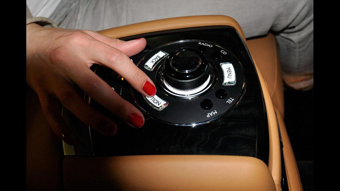 Rolls Royce Ghost, Fond, Rückbank, Infotainment
