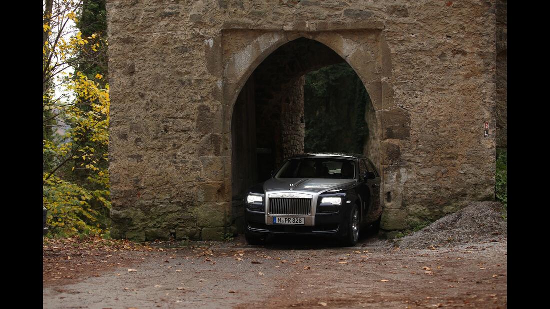Rolls-Royce Ghost, Frontansicht