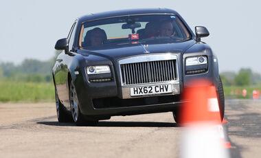 Rolls-Royce Ghost, Frontansicht, Slalom