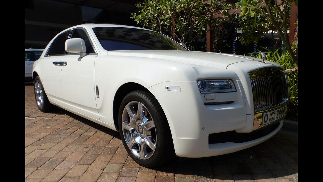 Rolls Royce Ghost - GP Abu Dhabi - Carspotting 2015