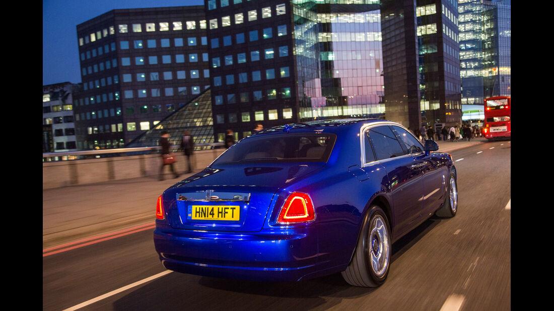 Rolls-Royce Ghost, Heckansicht