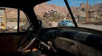 Rolls-Royce Ghost, Heckansicht, Minen-Lkw