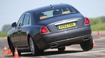 Rolls-Royce Ghost, Heckansicht, Slalom