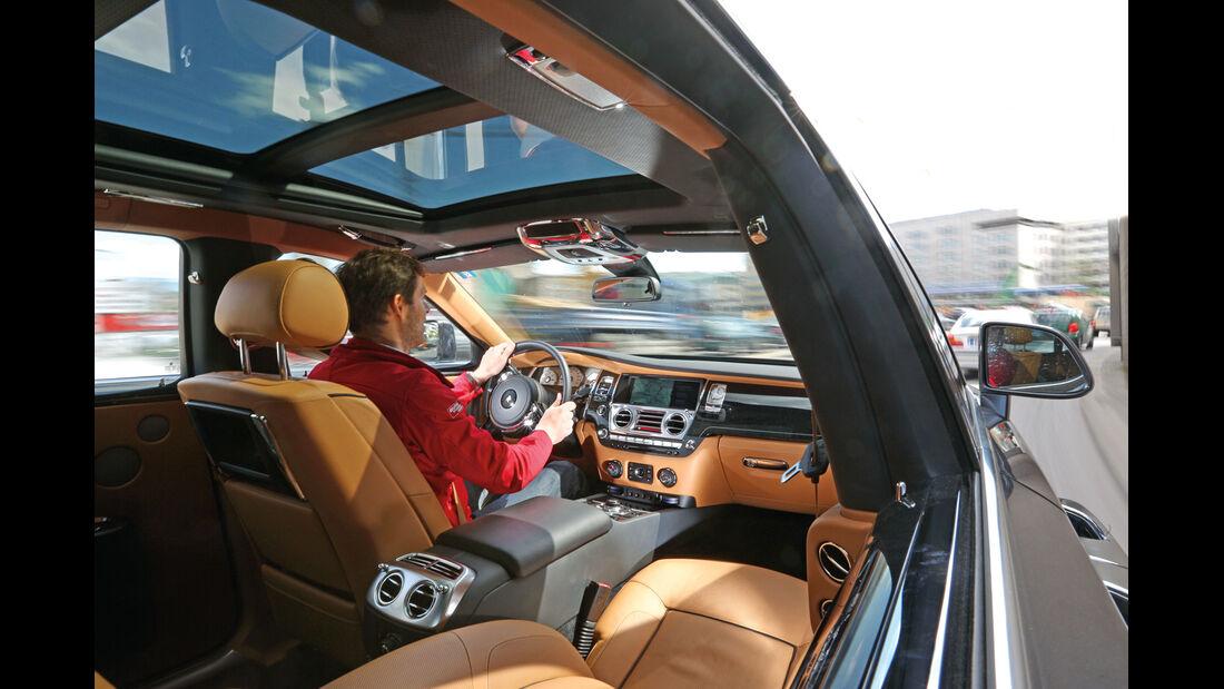 Rolls-Royce Ghost, Innenraum