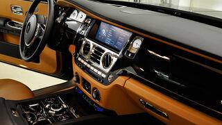 Rolls Royce Ghost, Innenraum, Cockpit