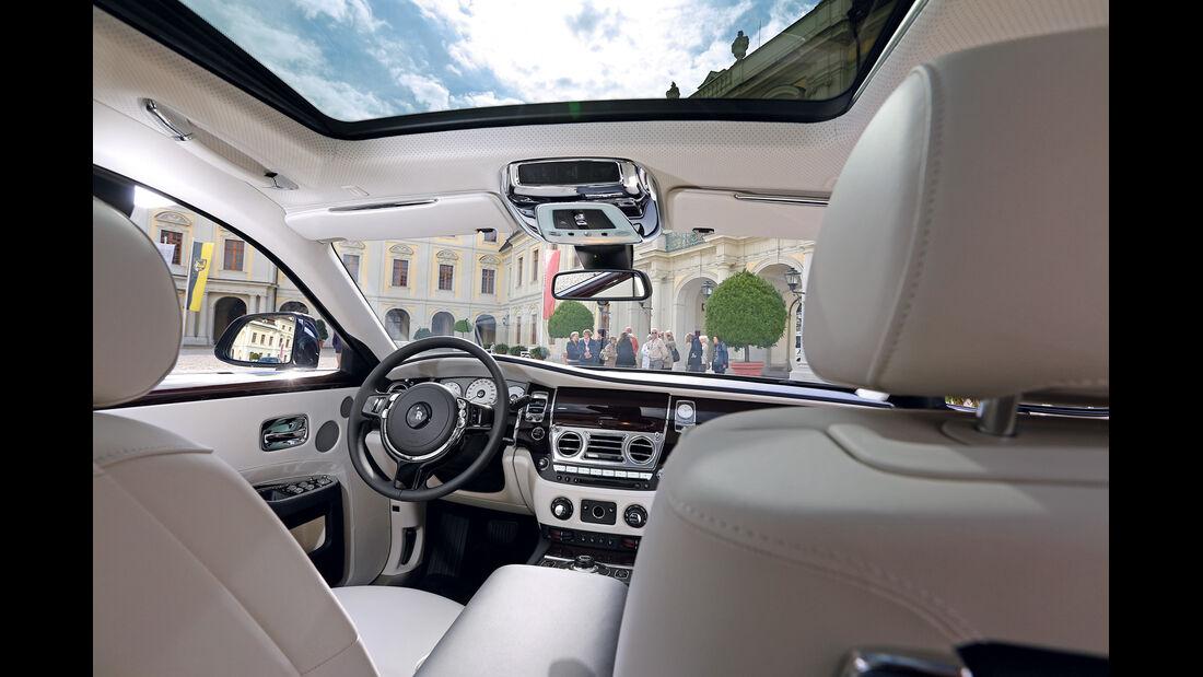 Rolls-Royce Ghost, Innenraum, Interieur