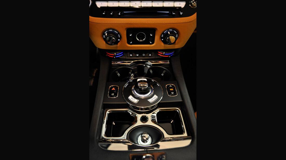 Rolls Royce Ghost, Innenraum, Mittelkonsole