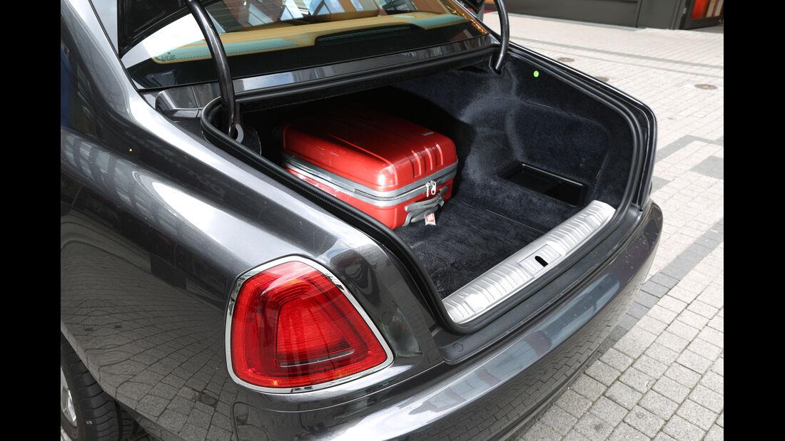 Rolls-Royce Ghost, Kofferraum