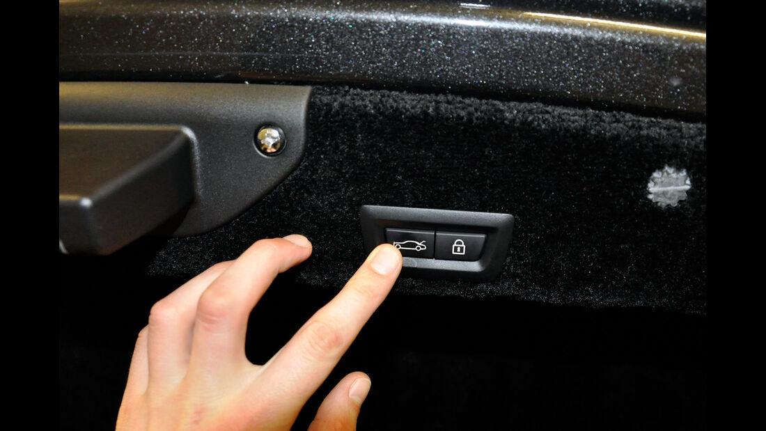 Rolls Royce Ghost, Kofferraum