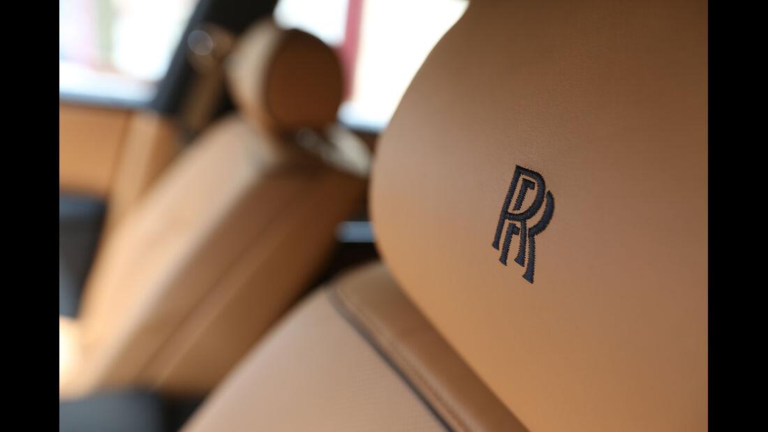 Rolls-Royce Ghost, Kopfstütze