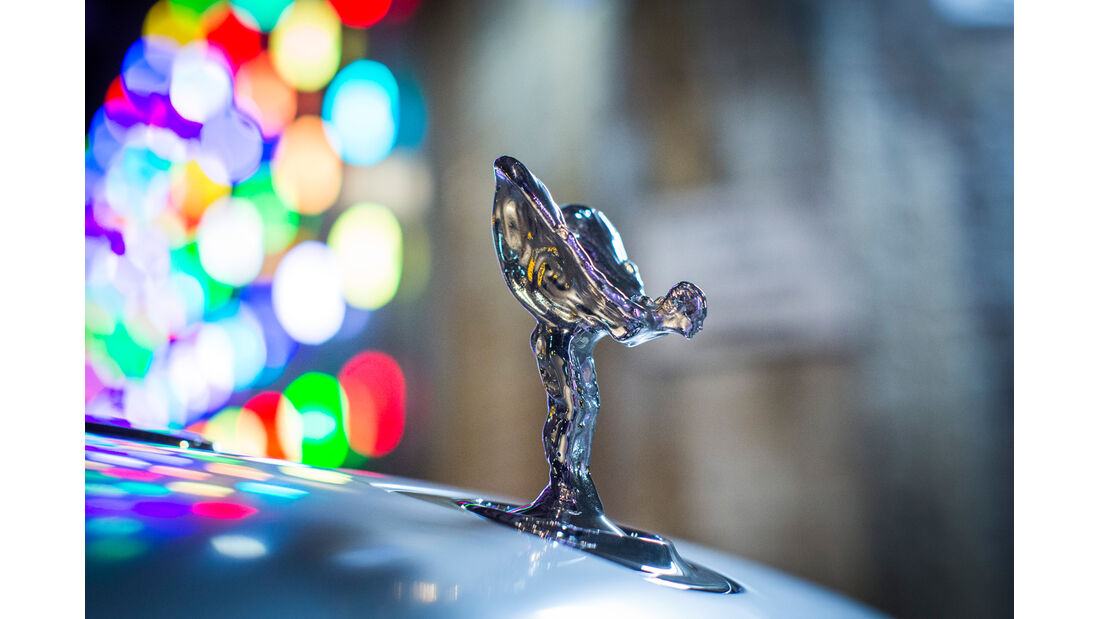 Rolls-Royce Ghost, Kühlerfigur