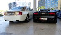 Rolls Royce Ghost & Lamborghini Gallardo - F1 Abu Dhabi 2014 - Carspotting