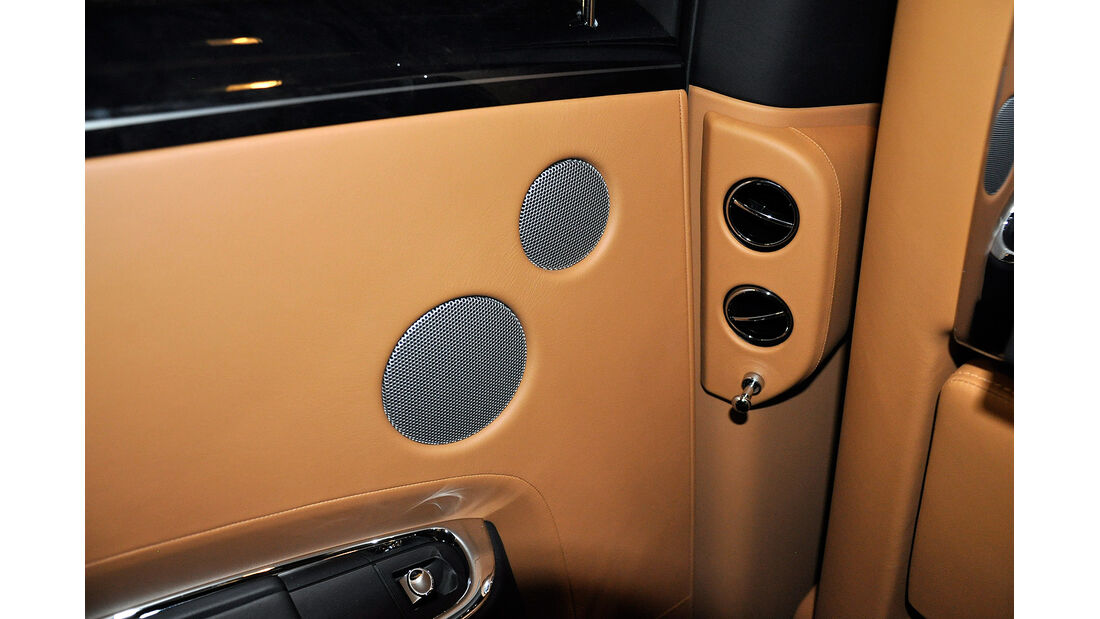 Rolls Royce Ghost, Lautsprecher