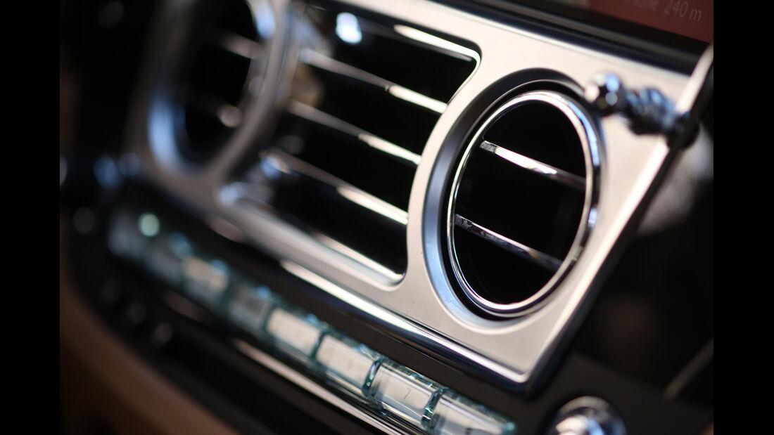 Rolls-Royce Ghost, Luftausströmer