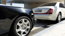 Rolls Royce Ghost & Maybach - F1 Abu Dhabi 2014 - Carspotting