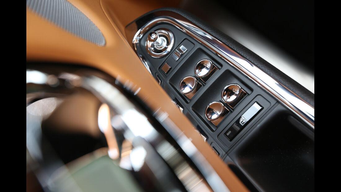 Rolls-Royce Ghost, Mittelkonsole