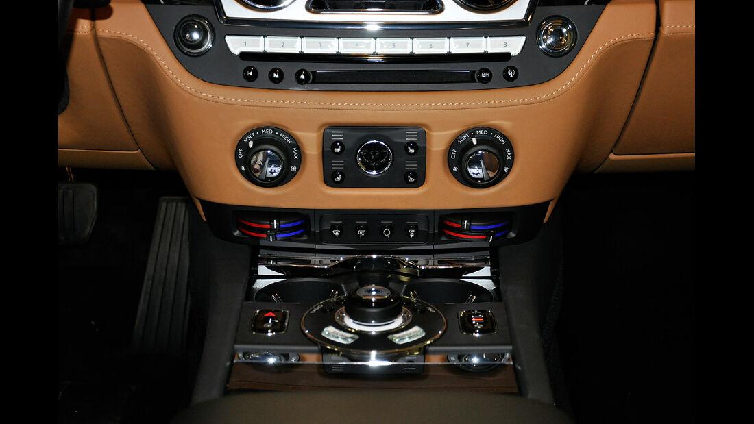 Rolls Royce Ghost, Mittelkonsole, Klimaautomatik