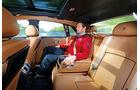 Rolls-Royce Ghost, Rücksitz, Beinfreiheit